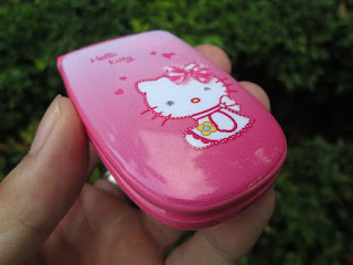Hape Mini Unik Hello Kitty W88 Baru Model Flip Mungil