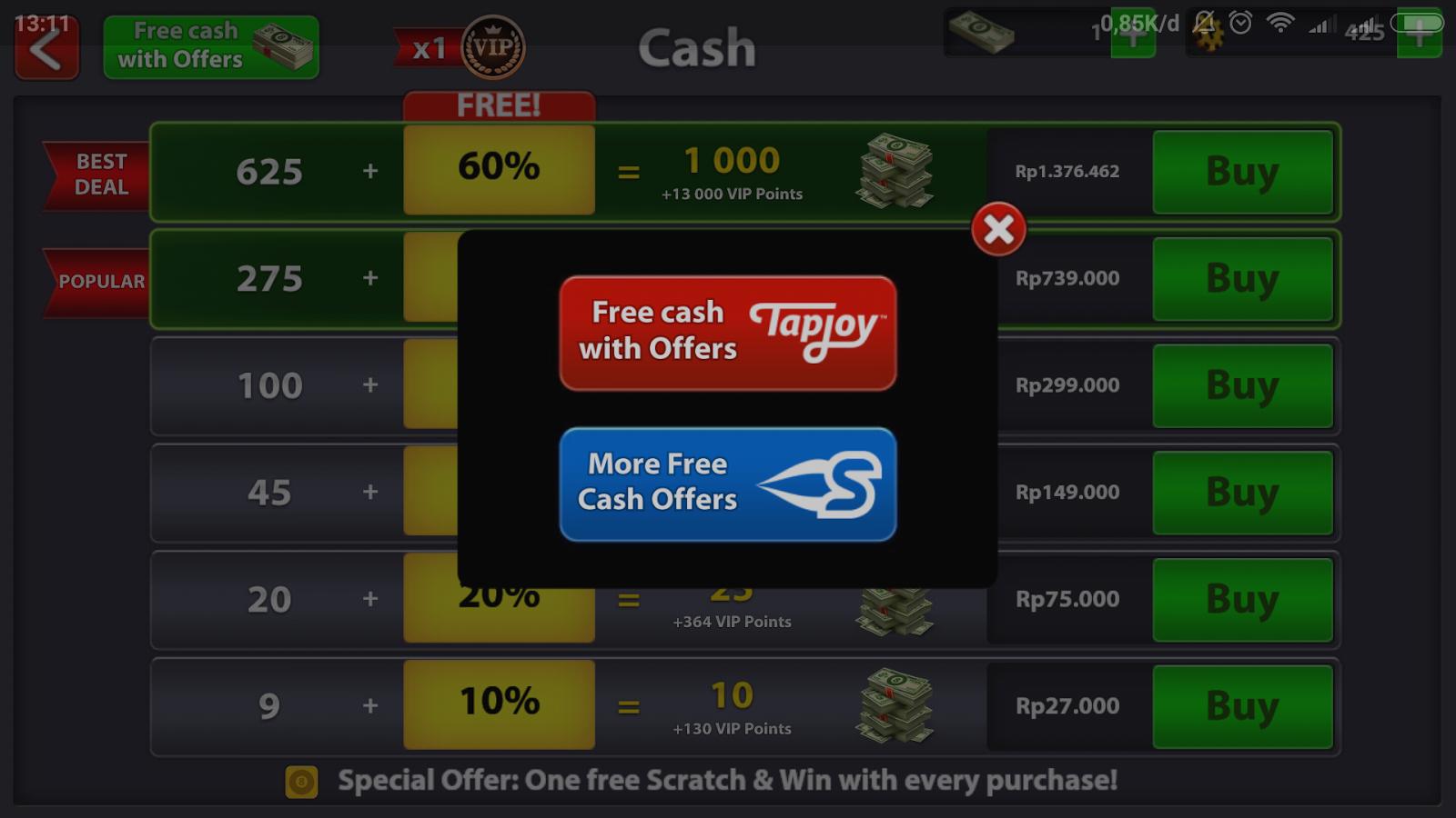 Cara Mendapatkan Banyak Cash dan Coins 8 Ball Pool Gratis ...