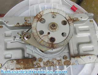 Lavadora electrolux no centrifuga
