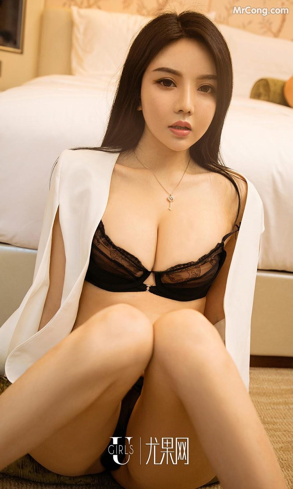 Image UGIRLS-Ai-You-Wu-App-No.1212-Sun-Yi-Fei-MrCong.com-003 in post UGIRLS – Ai You Wu App No.1212: Người mẫu Sun Yi Fei (孙一菲) (35 ảnh)