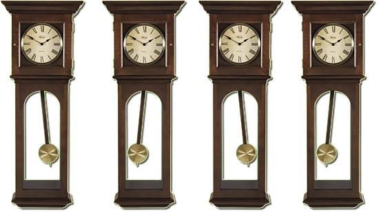 Sincronia de pêndulos de relógios