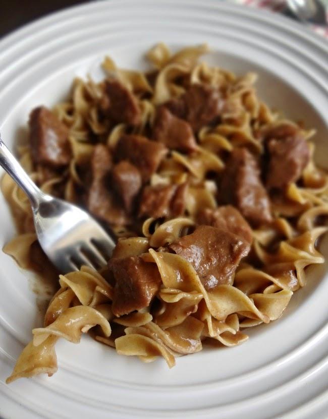 Grandma's Beef Stroganoff