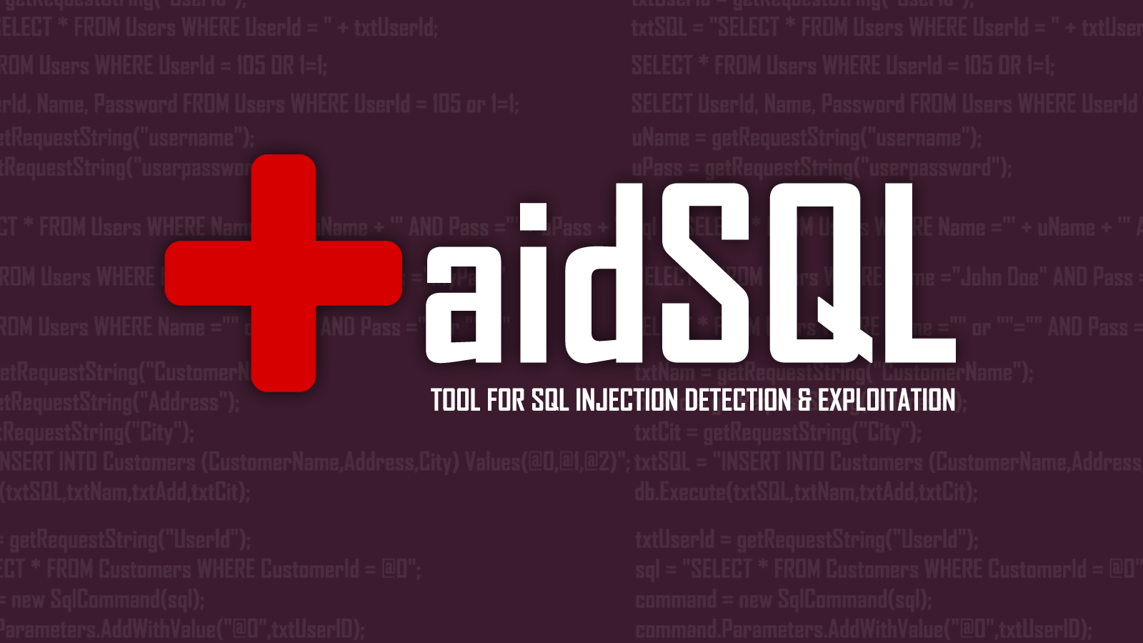 aidSQL SQL Injection Tool