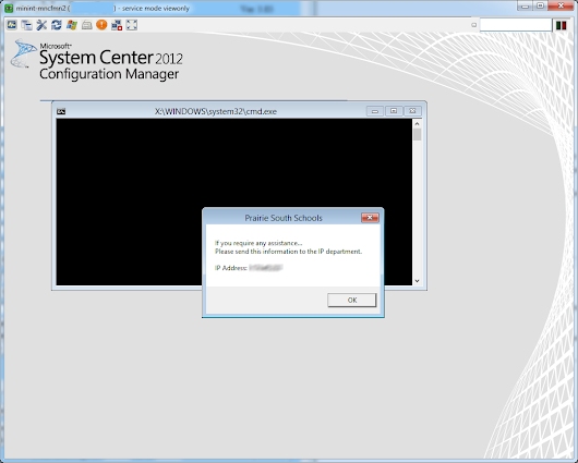 SCCM Boot Image with UltraVNC remote access