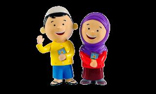 Promo Hafiz Hafizah Talking Doll