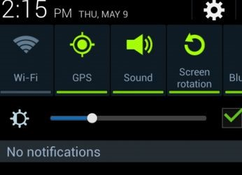 Samsung-notification