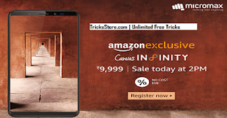 Micromax Canvas Infinity Smartphone Buy Online from Amazon India Flash Sale
