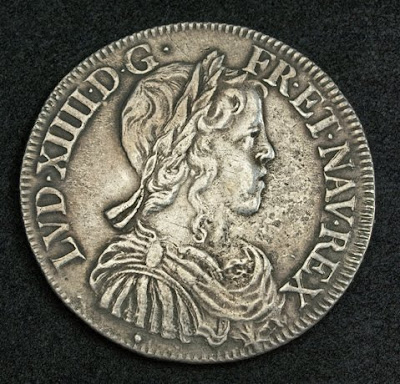 old french coin ecu