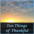 Sorry, No Jokes This Time ... Ten Things Of Thankful
