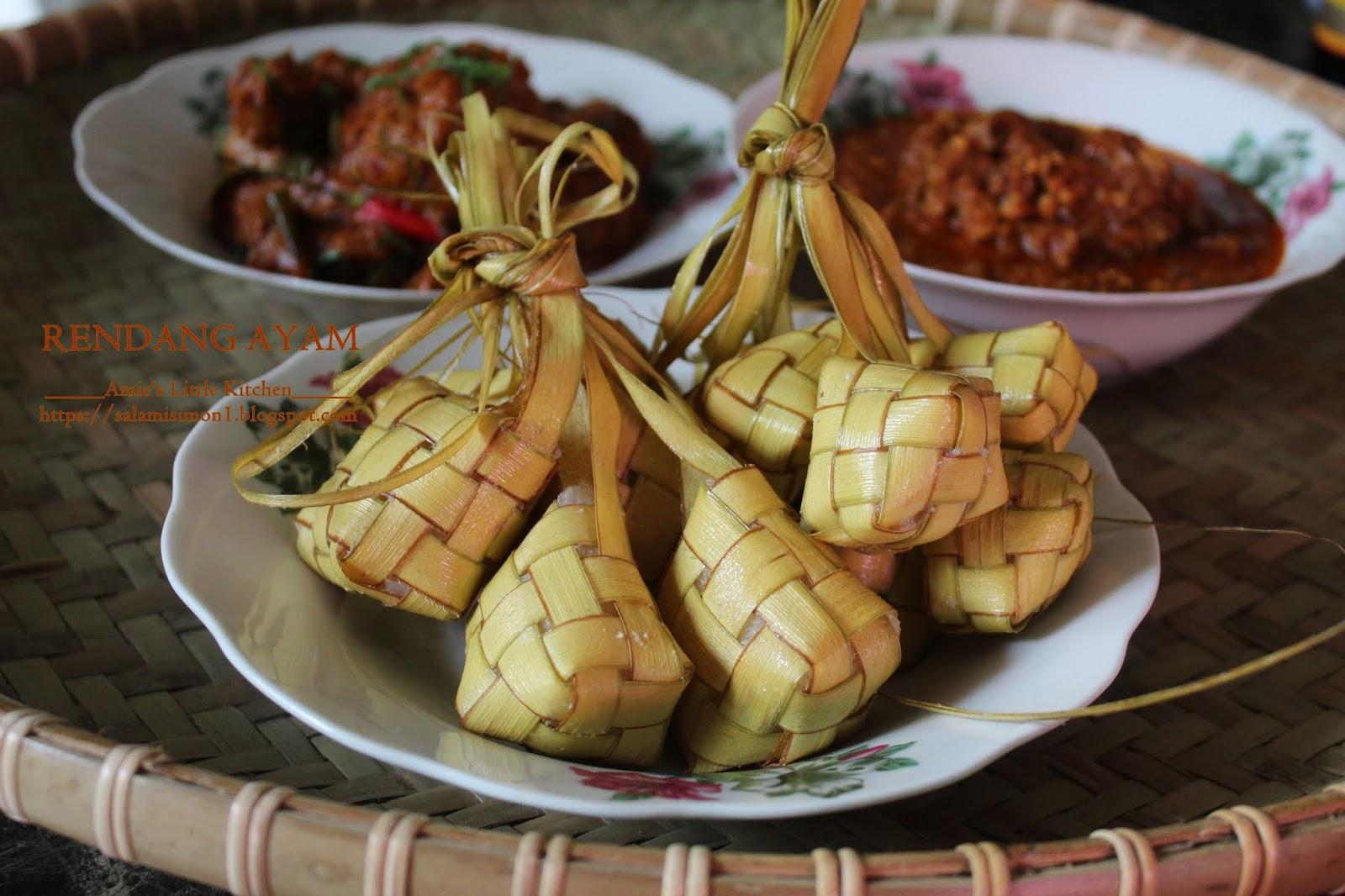 AMIE'S LITTLE KITCHEN: Resepi Rendang Ayam Paling Mudah Tapi Sedap!