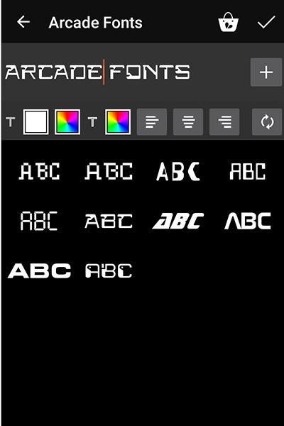 PicsArt Paid Fonts For Free - 1 | Ξffɘcts Fʌŋtʌsy