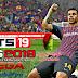 تحميل لعبة كرة القدم FTS 19 Mod PES 2019 مهكرة بآخر الانتقالات والاطقم (جرافيك خرافي) || ميديا فاير-ميجا
