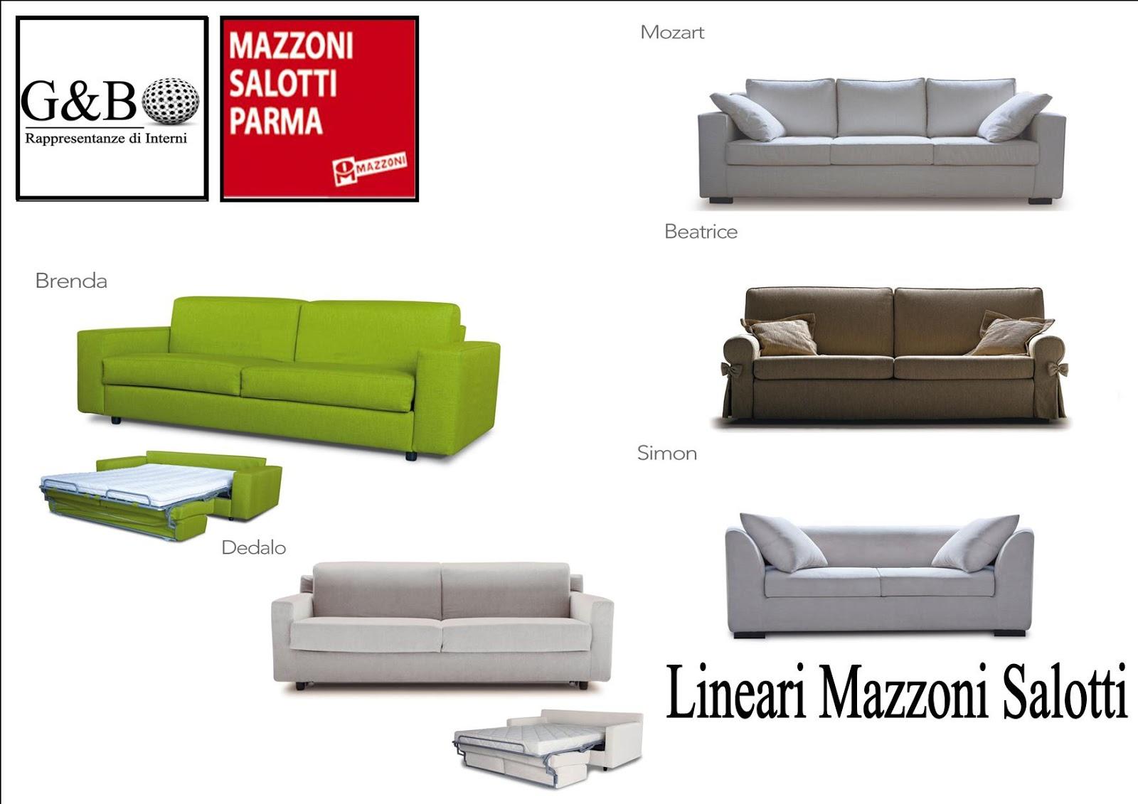 Mazzoni Salotti Prezzi.G B Rappresentanze Di Interni Mazzoni Dal 1953 Il Salotto