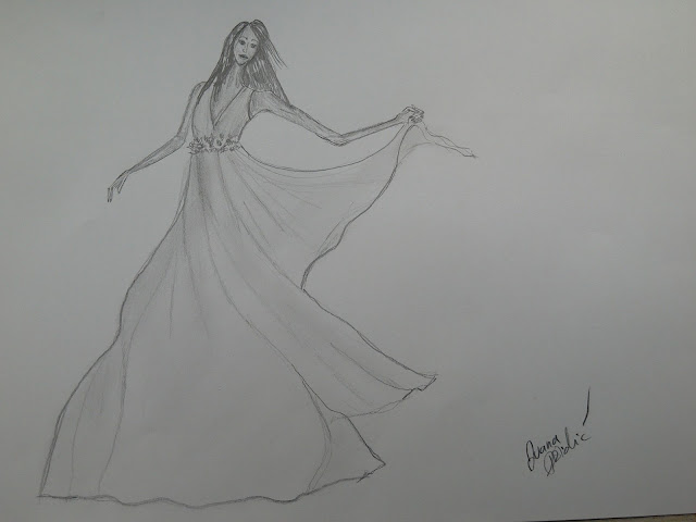 #bridaldrawing #bridal #modaodaradosti #fashionillustration