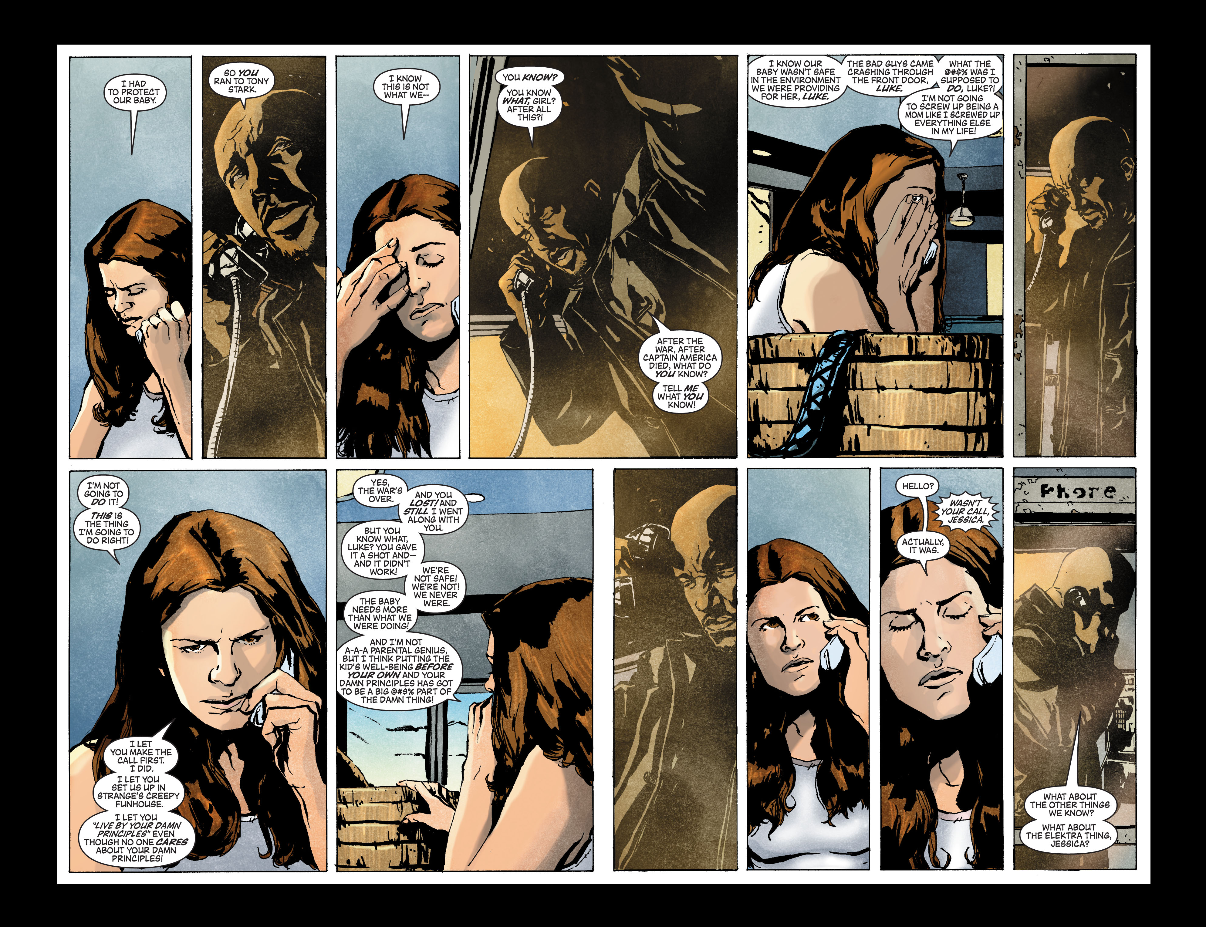 Read online Secret Invasion: The Infiltration comic -  Issue #3 - 7