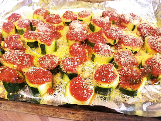 Mini Pizza Zucchini Appetizers | What's Cookin' Italian Style Cuisine