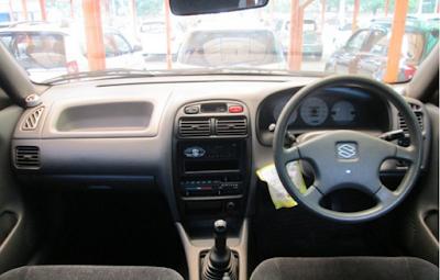 Interior Suzuki Baleno Facelift 1999 2000