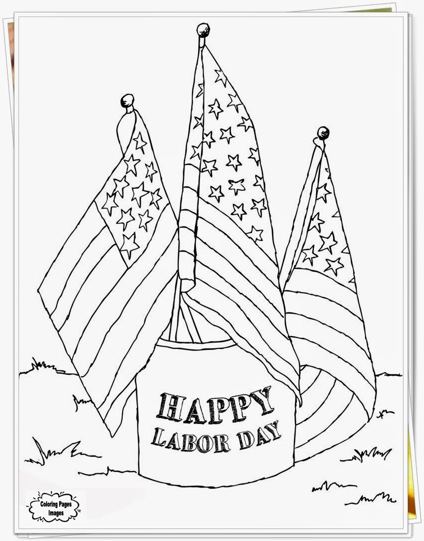Downloads Labor Day Coloring Pages For Preschool