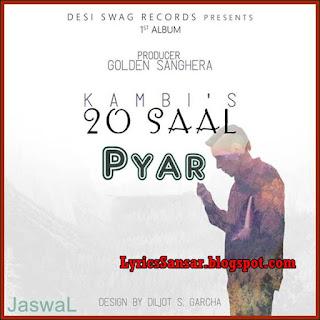 Pyar Lyrics – Kambi
