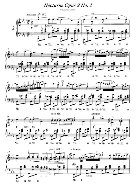 Frederic Chopin - Nocturne Opus 9 No.2