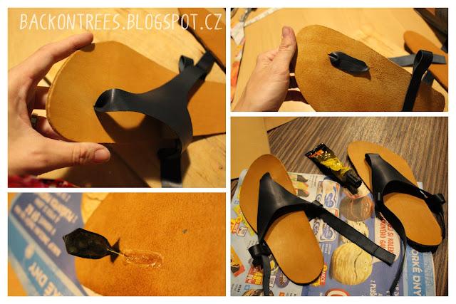 Jak vyrobit kožené barefoot sandály
