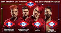 Conciertos de Kitai en el Metro de Madrid