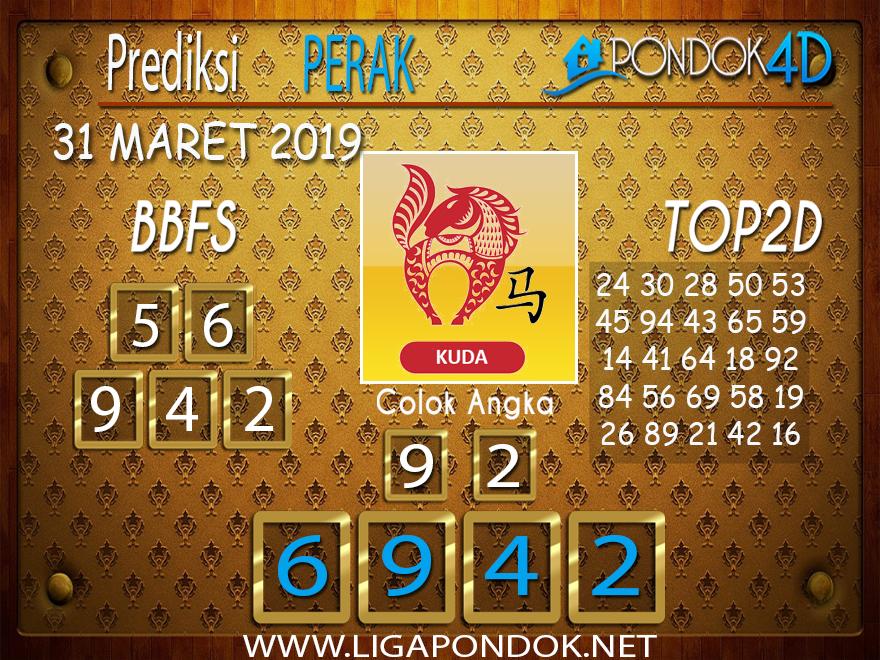 Prediksi Togel PERAK PONDOK4D 31 MARET 2019