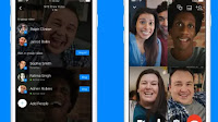 Facebook Videochat di gruppo, Live in diretta e Video Party