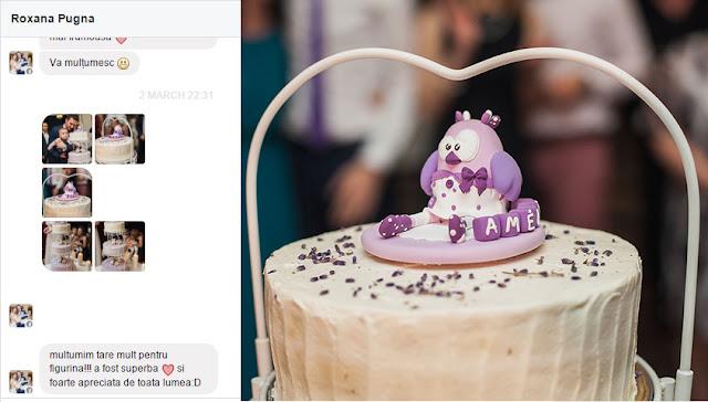figurine pt tort botez