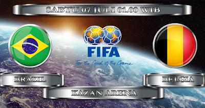 Tips Taruhan Bola Brasil vs Belgia