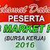 Job Market Fair ( JMF ) Tahun 2016 Disnakertrans Kab Probolinggo , 24 Agustus 2016 di Pantai Bentar