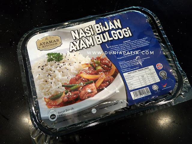 Nasi Bijan Ayam Bulgogi