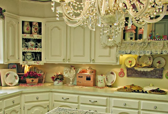 white country shabby chic kitchen