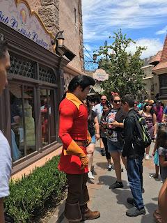 Gaston Fantasyland Disneyland