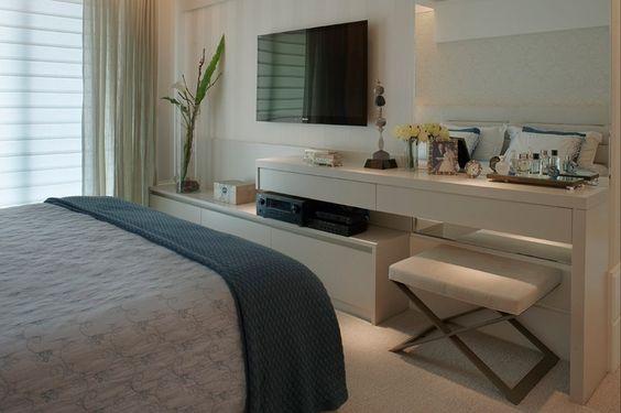 Hamburgueria Artesanal Zona Norte ~ Blanco Interiores Integrar Tv no quarto!!!