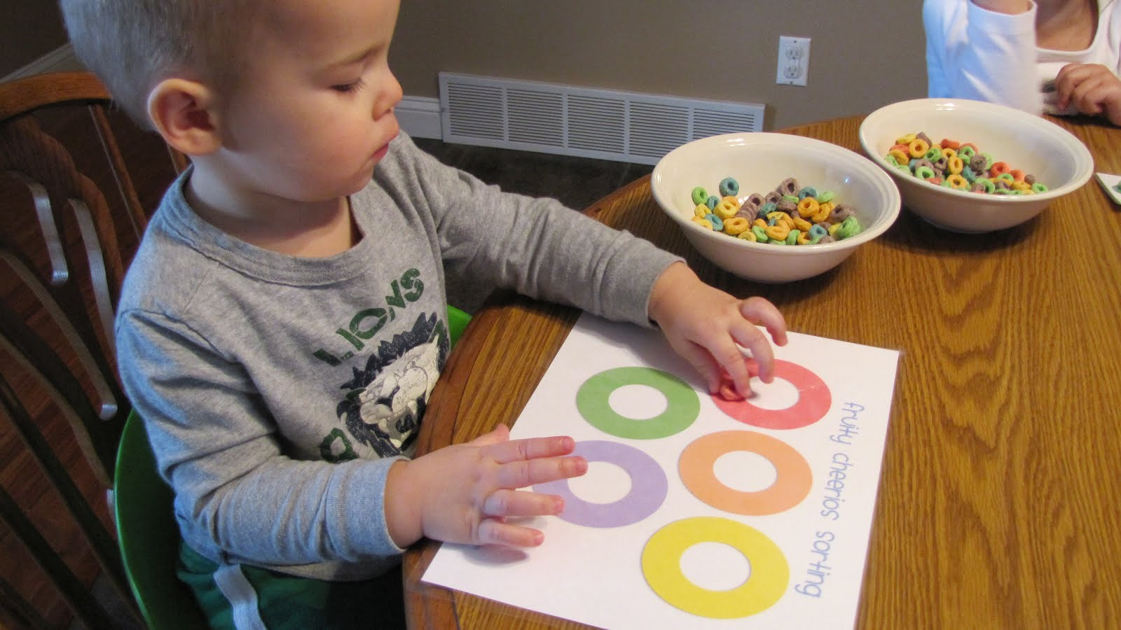 Activities For Kids Fun With Fruit Loops
