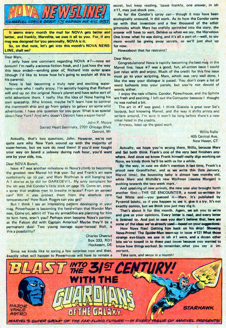 Nova (1976) 10 Page 1