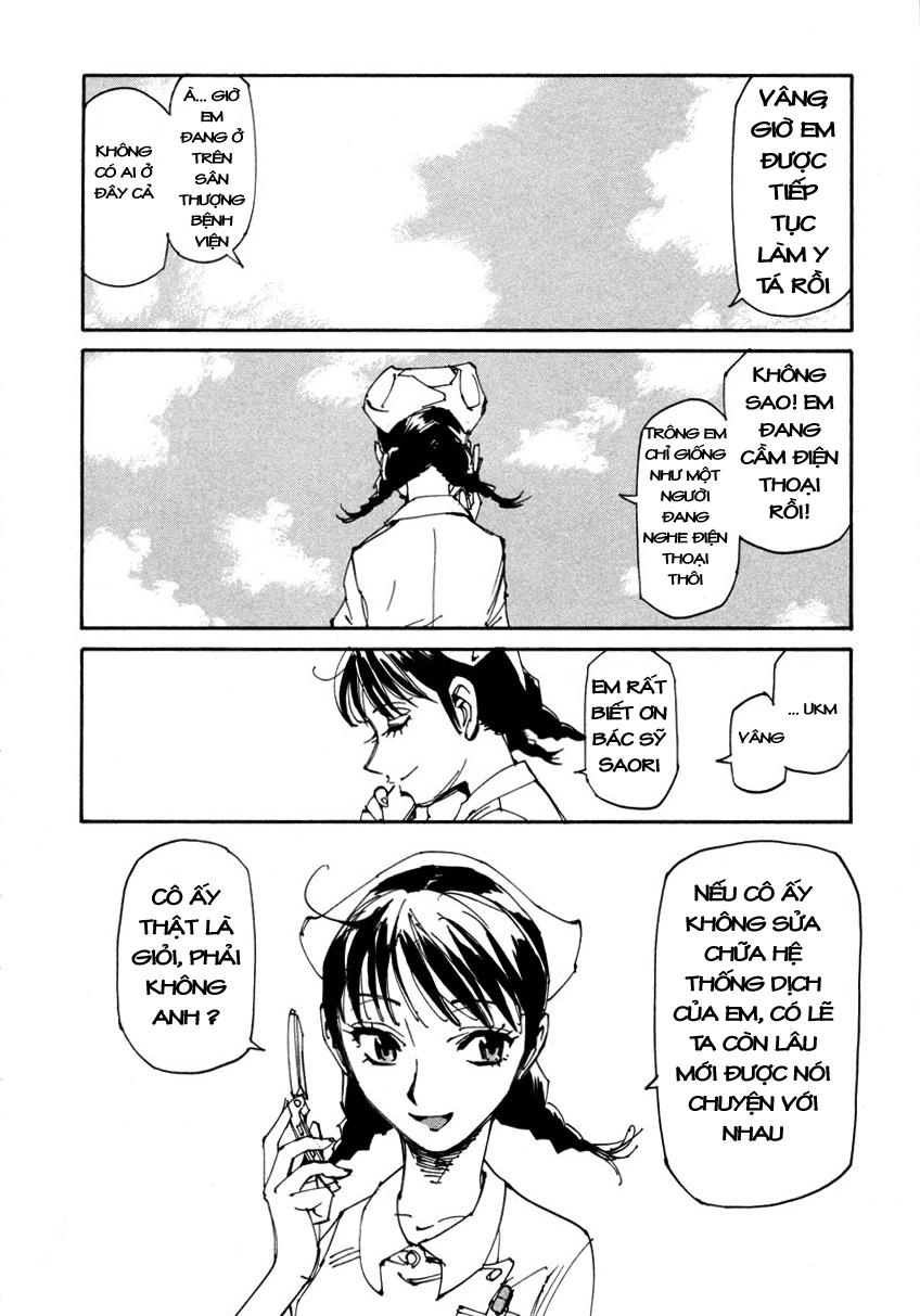 Dageki Joi Saori chap 6 - Trang 23