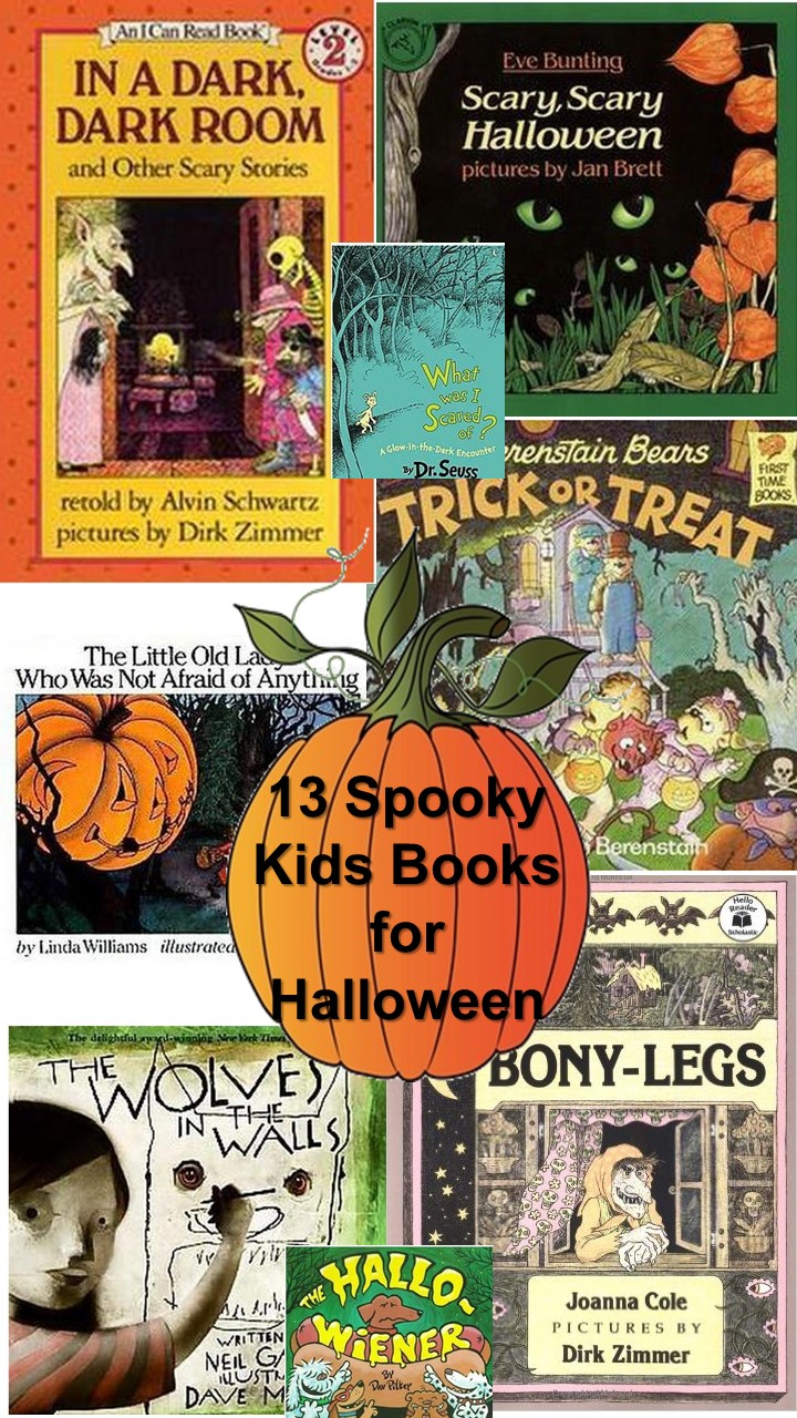 13 scary halloween childrens books