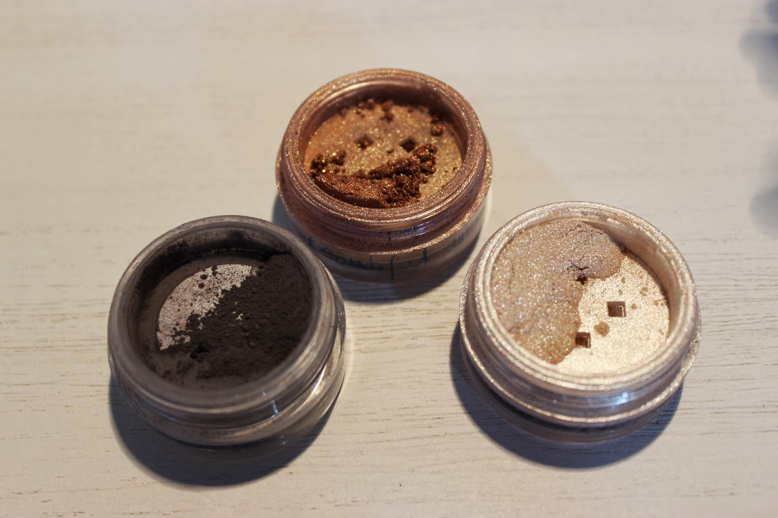 bareMinerals Beautifull autumn, velvet charcoal, queen phyllis