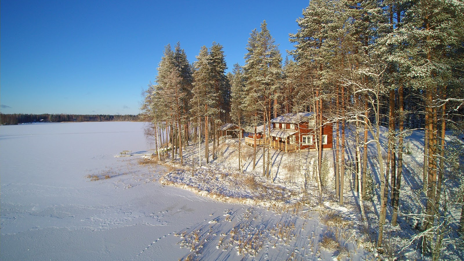 Rent Cottage Glamping Fishing In Finland Birdwatching