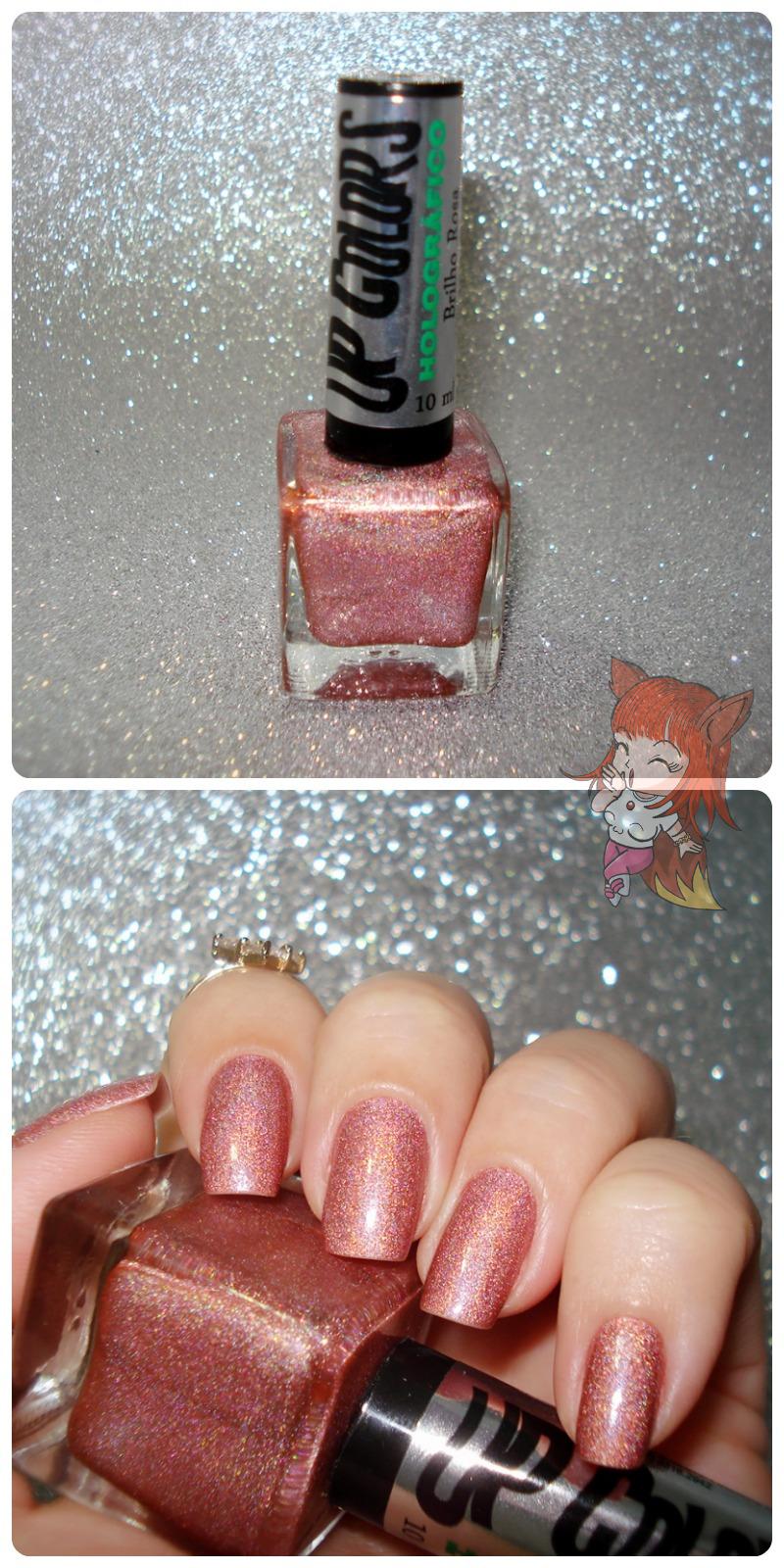 Esmalte Up Colors :: Brilho Rosa - #12Meses12Esmaltes