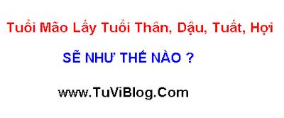 Tuoi Mao lay tuoi Than Dau Tuat Hoi