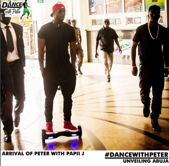 dance with peters auditions abuja