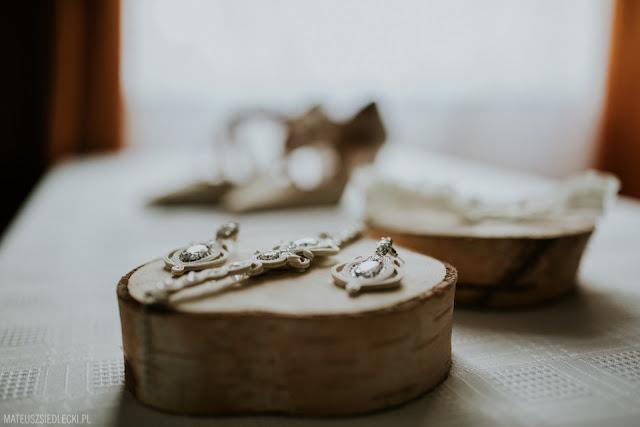 Komplet ślubny sutasz ivory, kolekcja PRESTIGE.