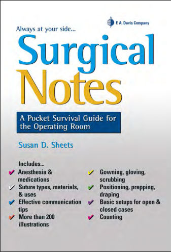 Surgical Notes - A Pocket Survival Guide for the Operating Room 2015 [PDF]