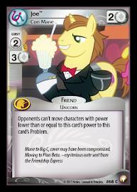 My Little Pony Joe, Con Mane Equestrian Odysseys CCG Card