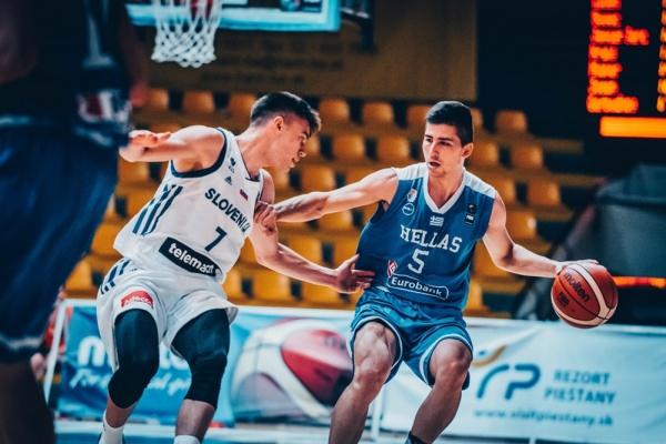 Εθνική Εφήβων: Σλοβενία-Ελλάδα 67-81. Ιδανική πρεμιέρα στο Ευρωπαϊκό