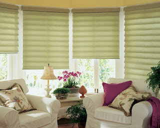 Clean Simple Window Treatments Roman Shades