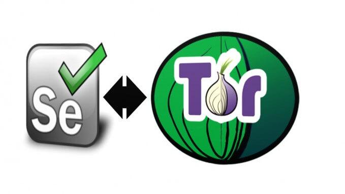 Selenium Webdriver with Tor network - Yasith Lokuge